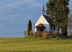 Chappelle Saint Wolgang Kappelen, région Alsace