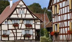 Commune de Kappelen, région Alsace